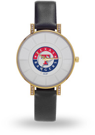 Texas Rangers Womens Lunar Watch - Black