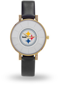 Pittsburgh Steelers Womens Lunar Watch - Black