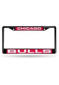 Chicago Bulls Chrome License Frame