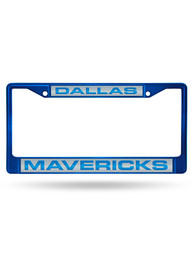 Dallas Mavericks Chrome License Frame