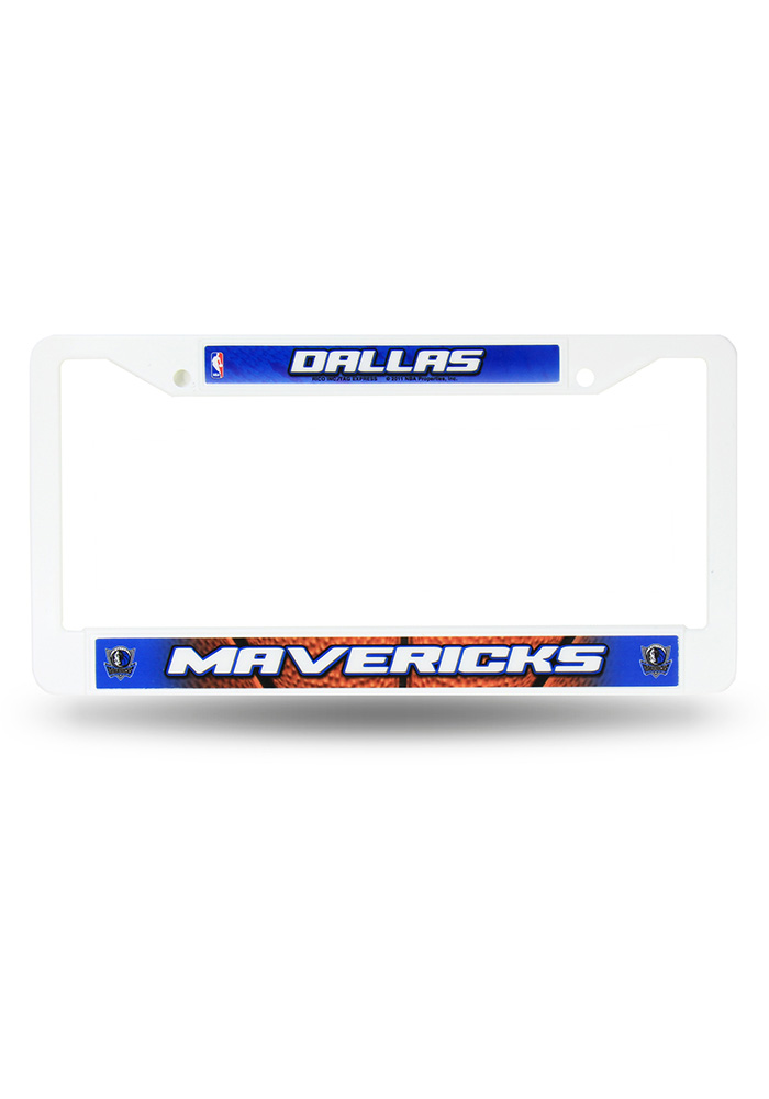 Dallas Mavericks Plastic License Frame - Image 1