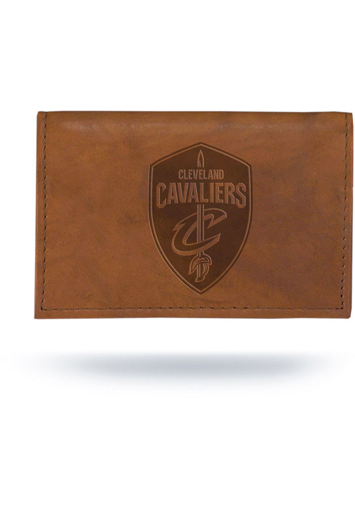 Cleveland Cavaliers Embossed Mens Trifold Wallet - Image 1