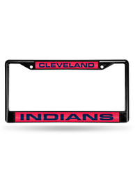 Cleveland Indians Chrome Inlaid License Frame