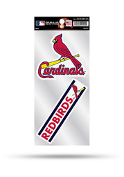St Louis Cardinals 2 Pack Die Cut Auto Decal - Red