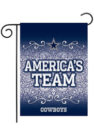 Dallas Cowboys 13 X 18 Garden Flag