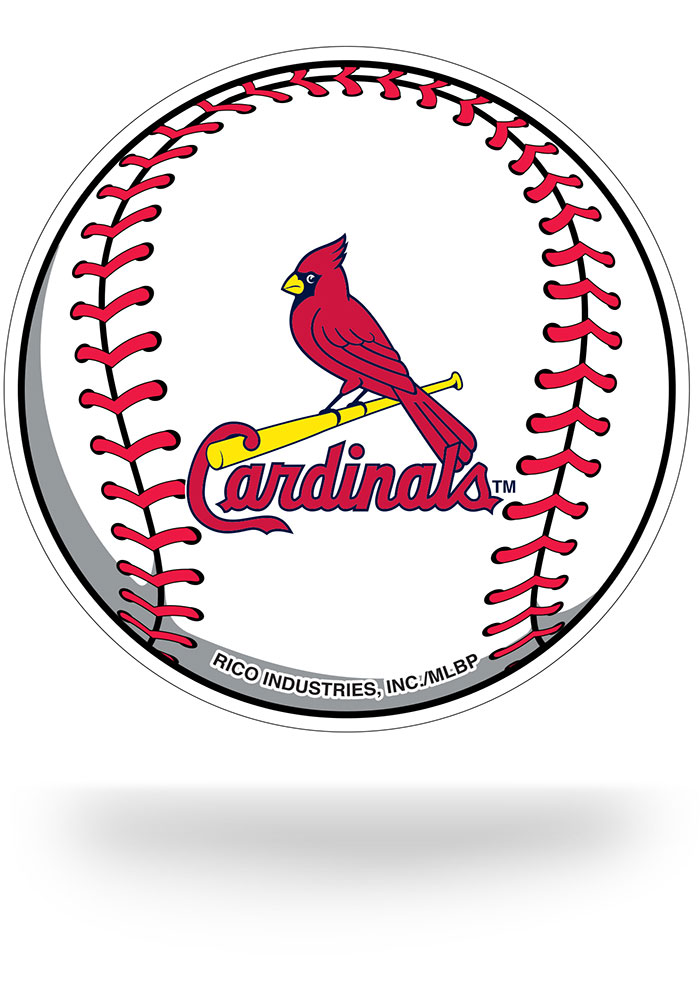 St Louis Cardinals Team Logo Baseball Tattoo - 7141966