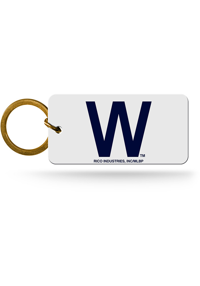 Chicago Cubs W Keychain - Image 1