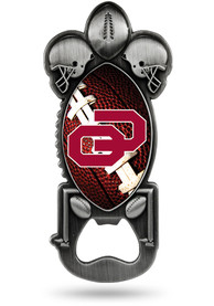 Oklahoma Sooners Party Starter Football Bottle Opener
