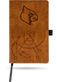 Louisville Cardinals Laser Engraved Small Notepad