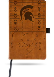 Michigan State Spartans Laser Engraved Small Notepad