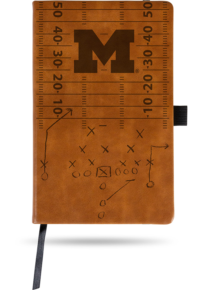 Michigan Wolverines Laser Engraved Small Notepad 7142256