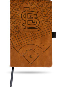 St Louis Cardinals Laser Engraved Small Notepad