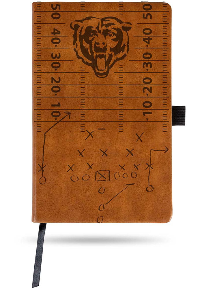 Chicago Bears Laser Engraved Small Notepad - Image 1