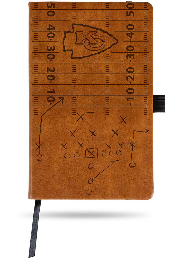 Kansas City Chiefs Laser Engraved Small Notepad - Image 1