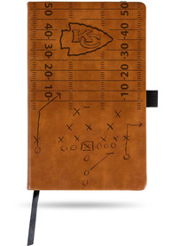Kansas City Chiefs Laser Engraved Small Notepad