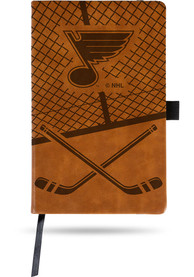 St Louis Blues Laser Engraved Small Notepad