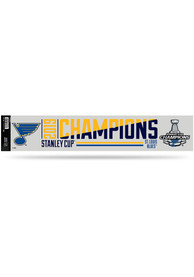 St Louis Blues 2019 Stanley Cup Champs Tailgate Stickers