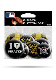 Pittsburgh Pirates 8 Pack Button
