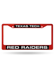 Texas Tech Red Raiders Colored Chrome License Frame