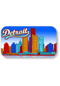 Detroit Skyline Crystal Magnet