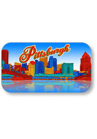 Pittsburgh Skyline Crystal Magnet