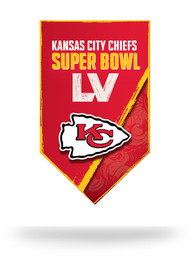 Kansas City Chiefs Super Bowl LV Bound Auto Static Cling