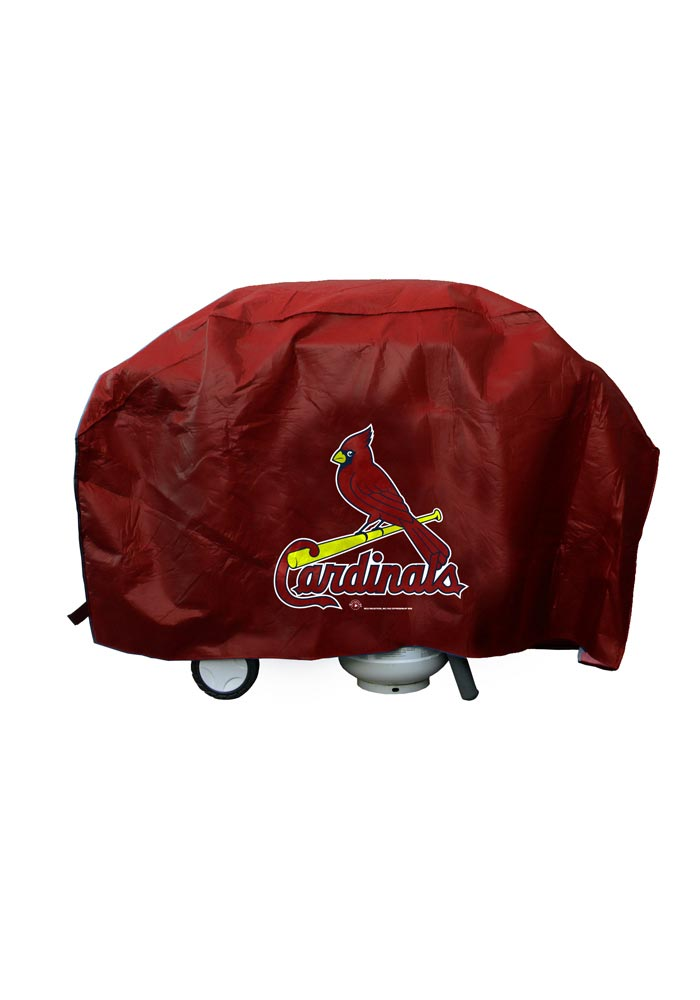St Louis Cardinals Large Red BBQ Grill Cover - Image 1
