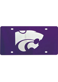 K-State Wildcats Team Logo Purple Car Accessory License Plate