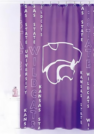 K-State Wildcats 71`X 71` Shower Curtain