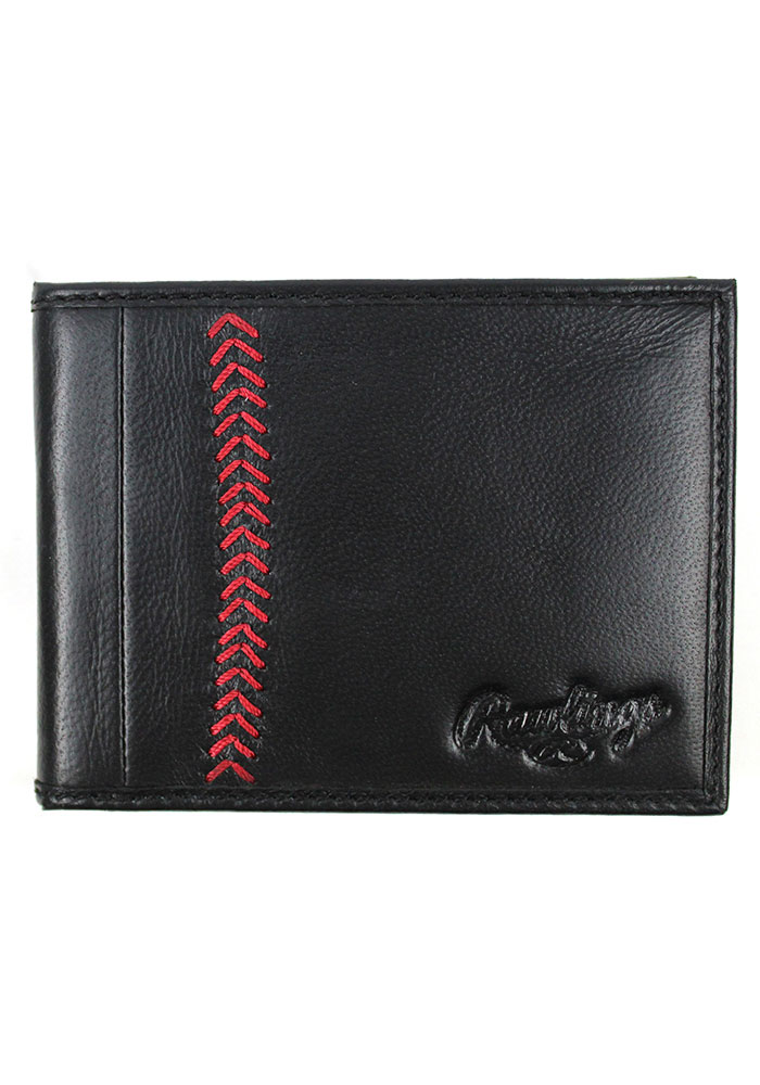 Rawlings Leather Mens Bifold Wallet - Image 1