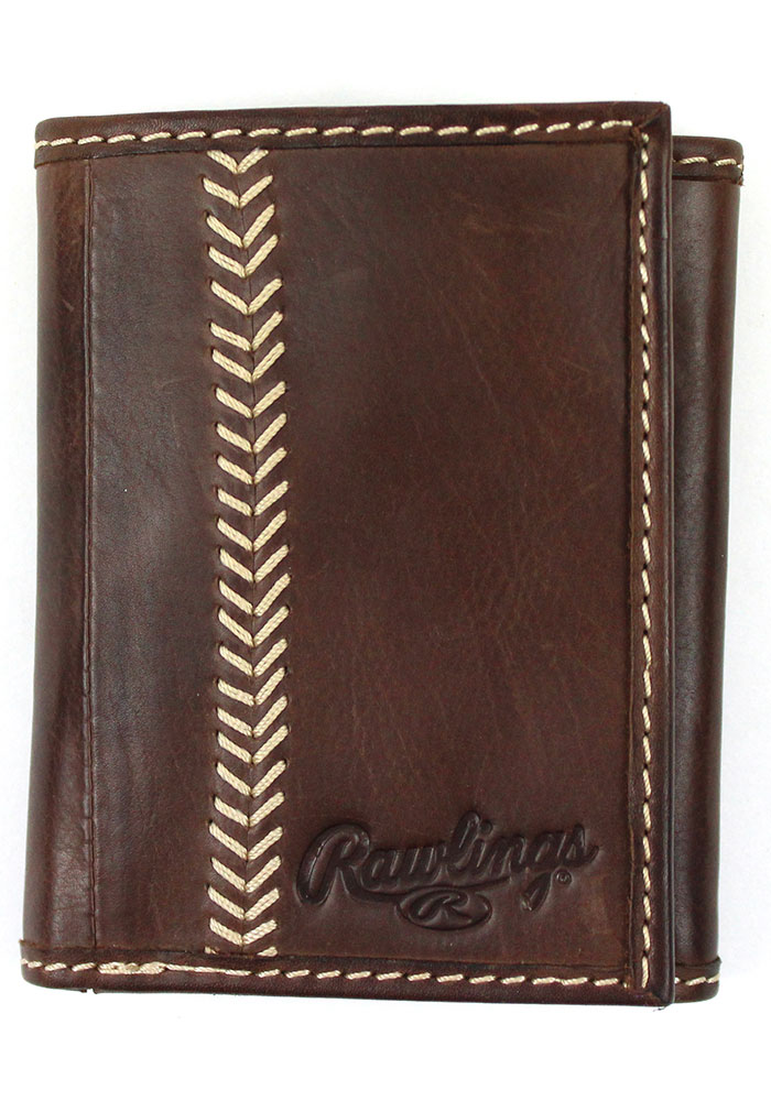 Rawlings Leather Mens Trifold Wallet - Image 1