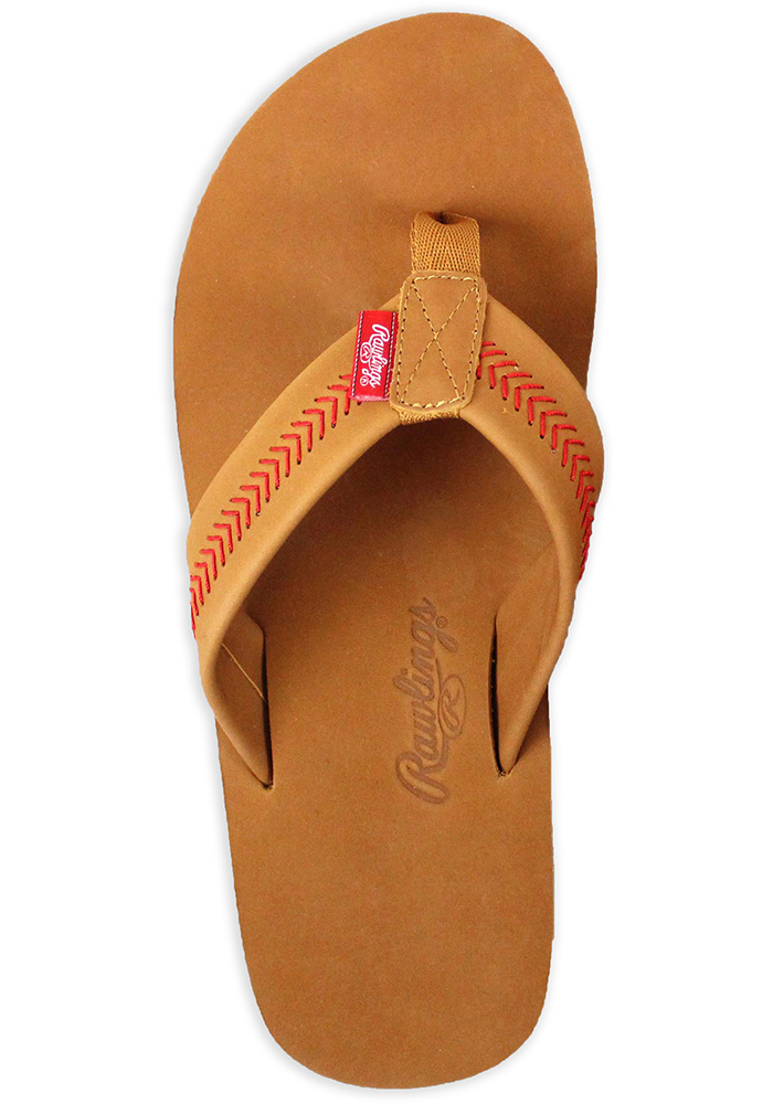 Rawlings Leather Mens Flip Flops - Image 1