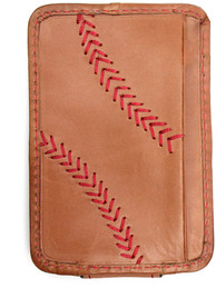 Rawlings Leather Money Clip - Brown