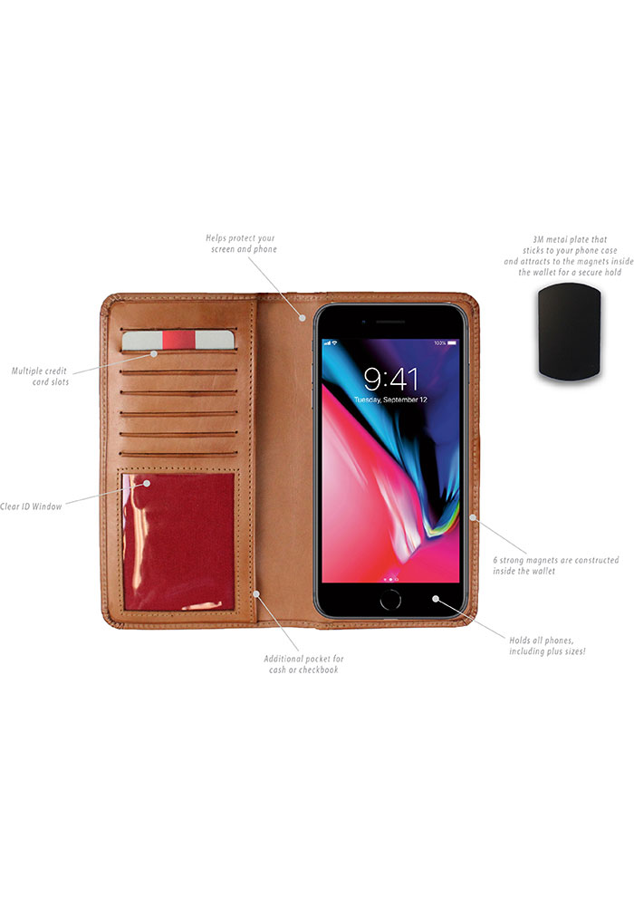 Rawlings Leather Magnetic Phone Cover - Image 2