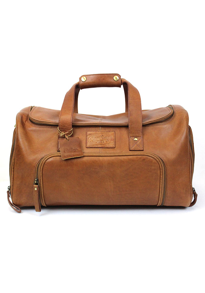 Brown Rawlings Leather Performance Duffle Luggage - Image 1