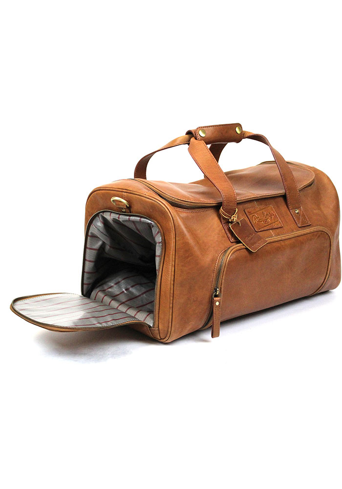 Brown Rawlings Leather Performance Duffle Luggage - Image 2