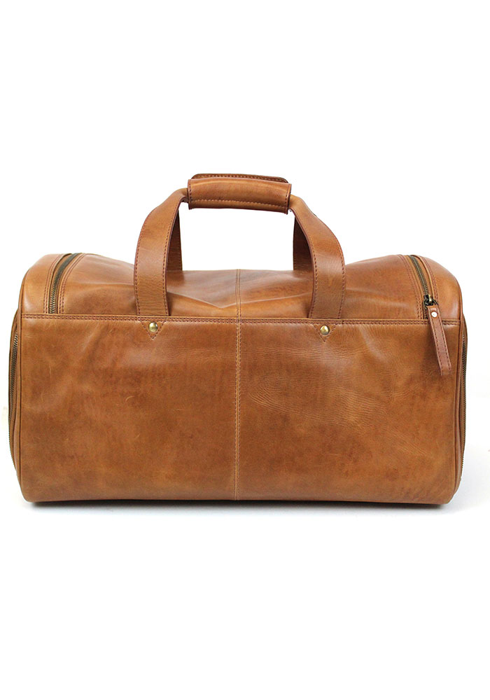 Brown Rawlings Leather Performance Duffle Luggage - Image 3