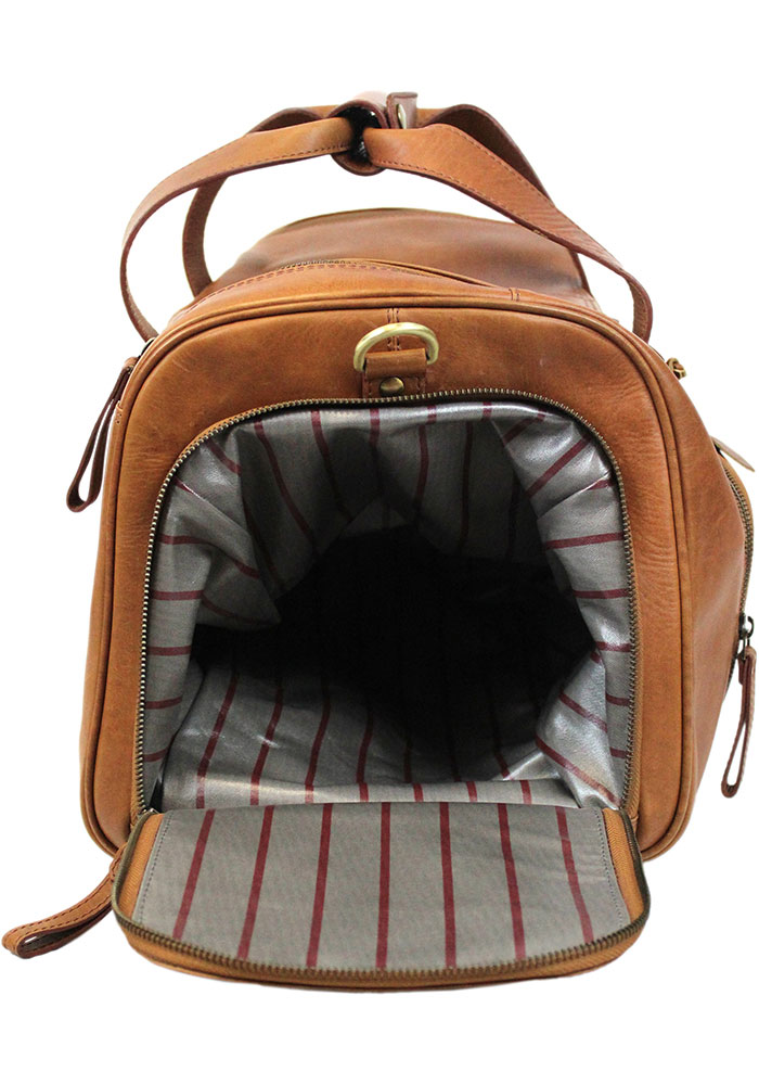 Brown Rawlings Leather Performance Duffle Luggage - Image 4