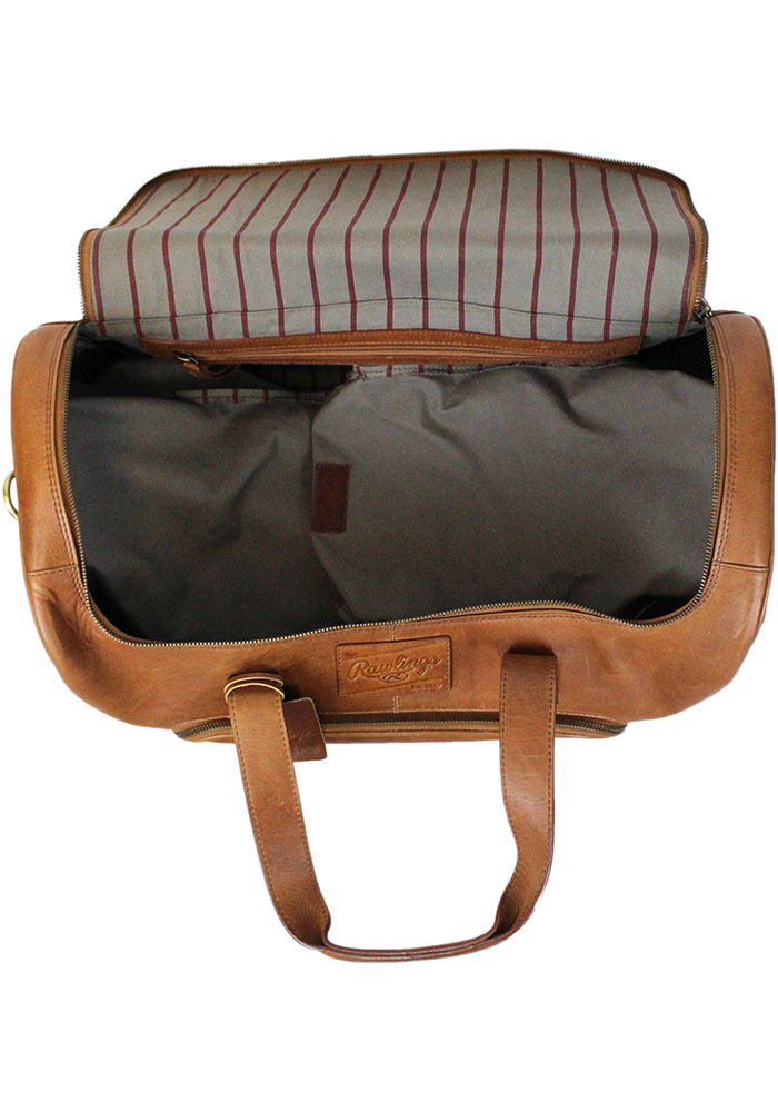 Brown Rawlings Leather Performance Duffle Luggage - Image 5