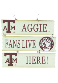 Texas A&M Aggies Hanging Sign