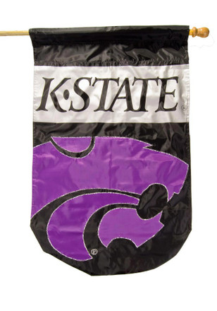K-State Wildcats 28x44 Applique Sleeve Banner
