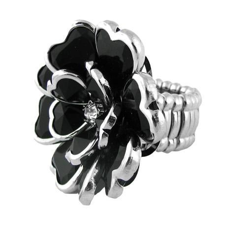 Flower Stretch Womens Ring - Image 1