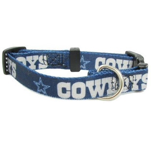Dallas Cowboys Extra Small Blue Pet Collar