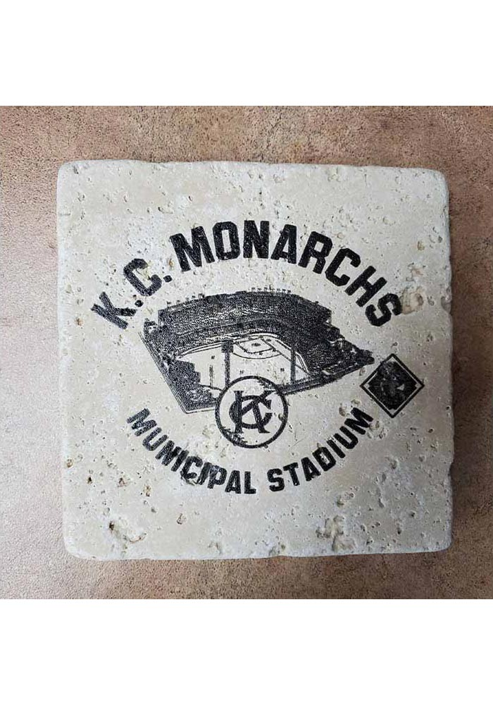 Kansas City Monarchs KC Monarchs 4x4 Coaster