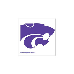 K-State Wildcats 4 Pack Tattoo