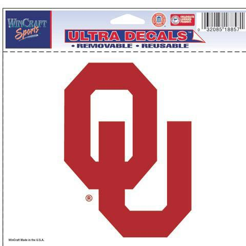 Oklahoma Sooners 5x6 Ultra Decal - Image 1