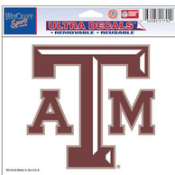 Texas A&M Aggies 5x6 Multi Use Auto Decal - Red