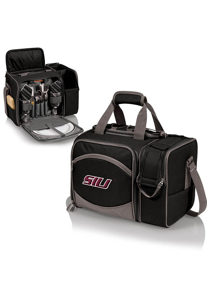 Southern Illinois Salukis Malibu Embroidered Picnic Pack Cooler - Image 1