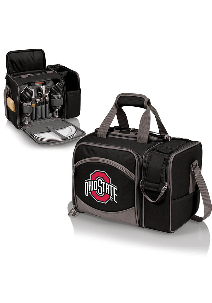 Ohio State Buckeyes Malibu Embroidered Picnic Pack Cooler - Image 1
