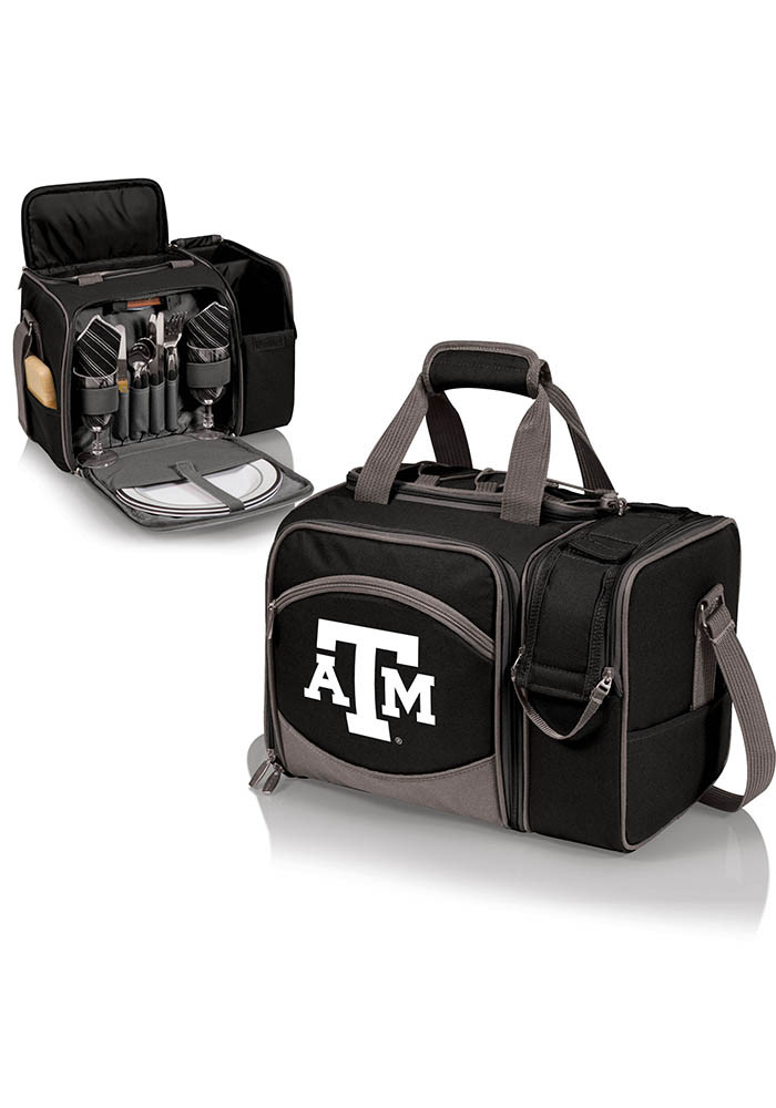 Texas A&M Aggies Malibu Embroidered Picnic Pack Cooler - Image 1